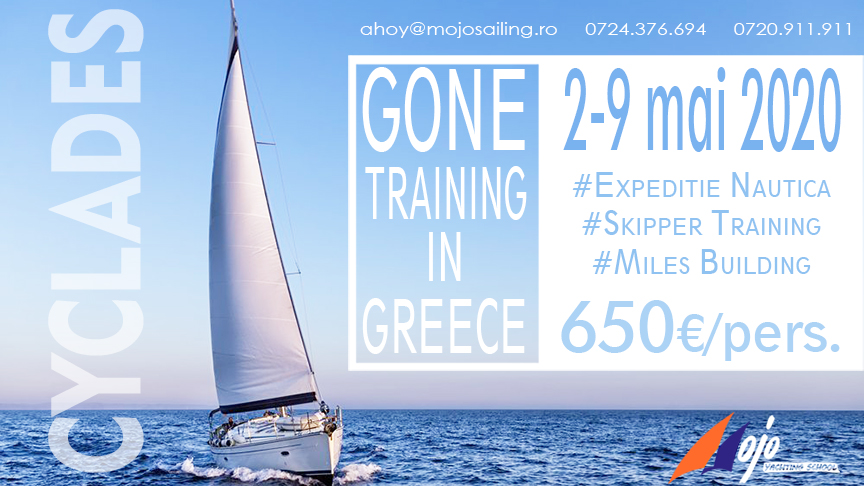 Gone Sailing in Greece